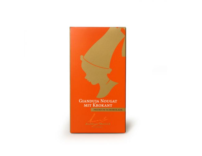 Gianduja Nougat Chocolate - 100g