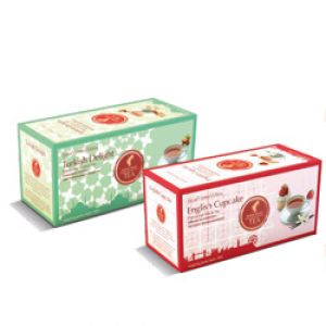 English Cupcake and Turkish Delight - 2 x 25 tea bags