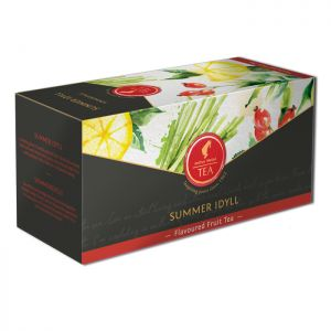 Organic Fruit tea Summer Idyll - 18 premium leaf tea bags