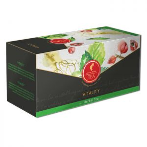 Organic Herbal tea Vitality - 18 premium leaf tea bags
