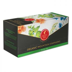 Organic Herbal tea Mountain Herbs - 18 premium leaf tea bags