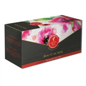 Organic Fruit tea Beauté de Rose - 18 premium leaf tea bags