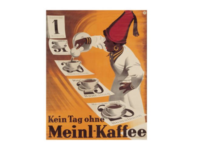 Kein Tag ohne Meinl Kaffee Poster