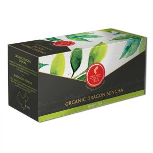 Organic Green tea Dragon Sencha - 18 premium leaf tea bags