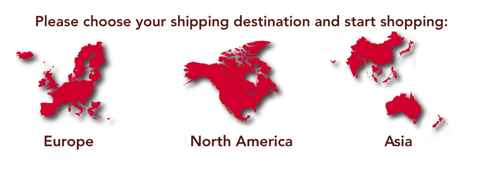 Choose your shipping region