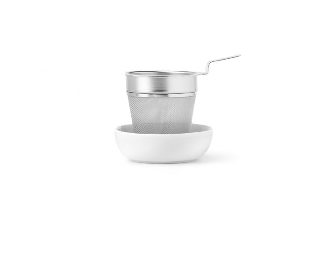 Julius Meinl Logo Strainer with saucer