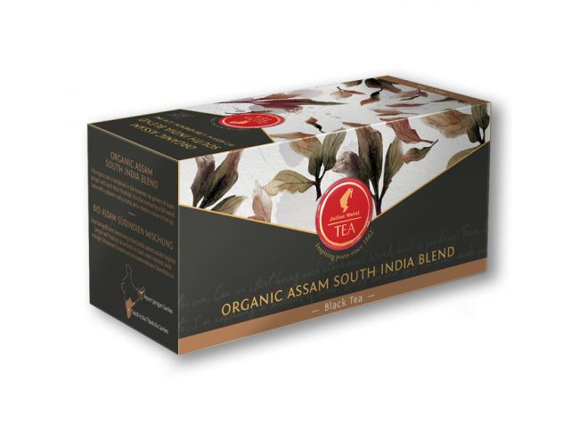 Organic Assam South India blend - 18 premium leaf tea bags