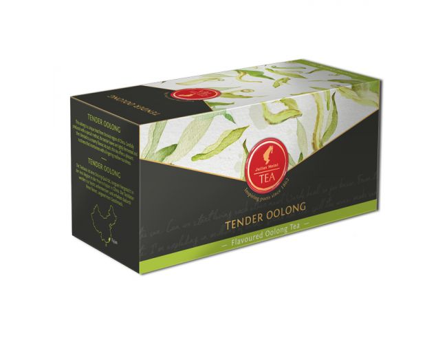 Organic Mixed black tea Tender Ooolong - 18 premium leaf tea bags