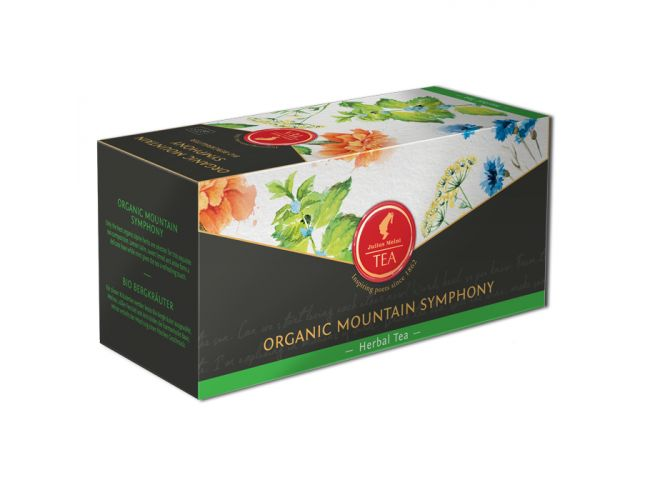 Organic Mountain Herbs - 18 premium leaf tea bags