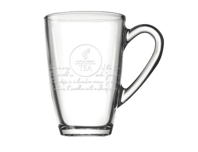 Julius Meinl Premium Leafbag Tea glass