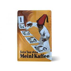 Julius Meinl Metal Sign - Everyday Meinl Coffee