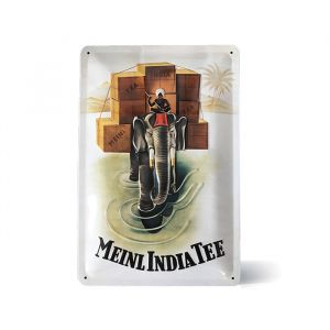 Julius Meinl Metal Sign - India Tea