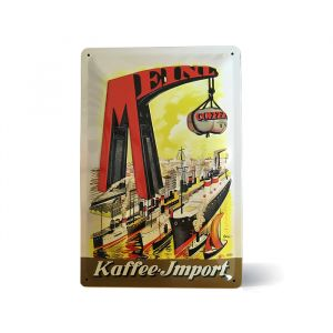 Julius Meinl Metal Sign - Coffee Import