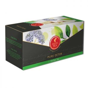 Organic Herbal tea Pure Detox - 18 premium leaf tea bags