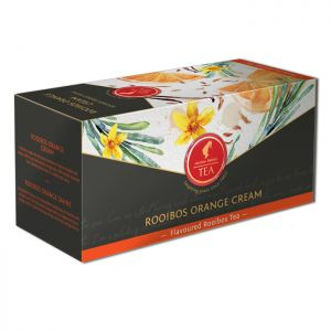 Organic Fruit tea Rooibos Orange Cream - 18 premium leaf tea bags