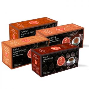 Black Tea Range - 4 x 25 tea bags